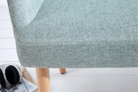 Casa Padrino Designer Sitzbank Hellgrün Breite 116 cm, Höhe 57 cm - Vorschau 2