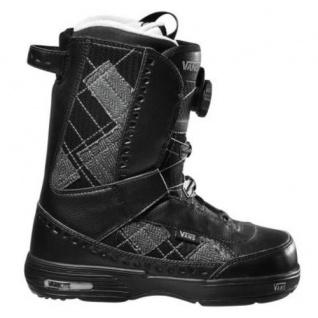 Vans Snowboard Boots Encore Black/Plaid Snow Boots Snowboard Stiefel Schneestiefel