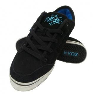 Vox Skateboard Schuhe Schuhe Schuhe Eman schwarz/Weiß/Cyan 18ecf3