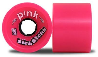 Pink Londboard Rollen Set SickSicks 78A 66mm