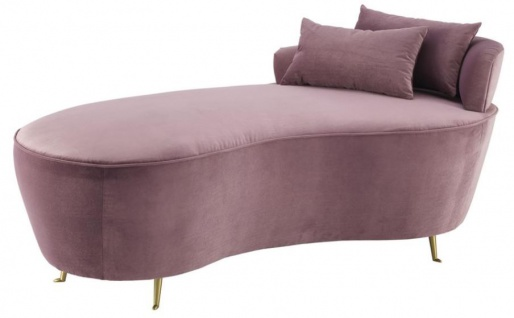 Casa Padrino Designer Sofa Lila 162 x 79 x H. 66 cm - Luxus Möbel