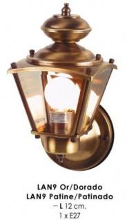 Wunderschöne wandleuchte im nostalgischen Stil / Antik, Breite 12 cm, Leuchte Lampe