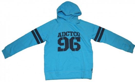 Addict Skateboard Pullover Basic Hoodie Türkis Sweater
