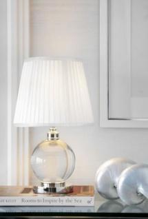 Casa Padrino Luxus Tischleuchte Nickel Durchmesser 11 x 25 x H 42 cm - Luxus Hotel Leuchte - Vorschau 2