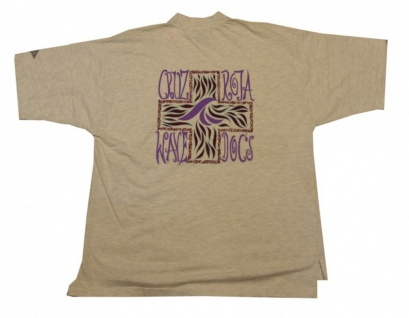 Sky&Hi Skateboard T-Shirt Cream