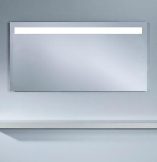 Casa Padrino Badezimmerspiegel mit LED Licht und Bewegungssensoren 140 x H. 70 cm - Luxus Badezimmermöbel
