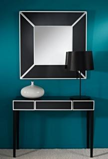 Casa Padrino Luxus Spiegel Schwarz 90 x H. 90 cm - Luxus Möbel & Accessoires - Vorschau 3