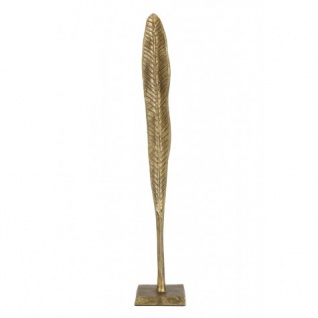 Casa Padrino Designer Metall Deko Antik Bronze 10 x 10 x H 58, 5 cm - Hotel Dekoration - Vorschau 2