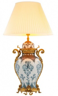Casa Padrino Luxus Keramik Tischleuchte - Luxus Leuchte