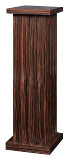 Casa Padrino Säule Braun 41, 5 x 41, 5 x H. 120 cm - Luxus Beistelltisch