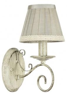 Casa Padrino Barockstil Wandleuchte / Wandlampe Antik Beige 15 x 22 x H. 29 cm - Möbel im Barock & Jugendstil