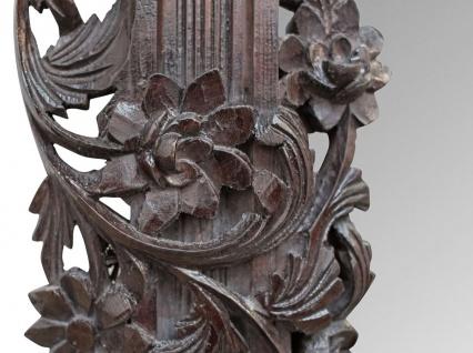 Casa Padrino Barock Spiegel / Wandspiegel Dunkelbraun 122 x H. 224 cm - Barockstil Möbel - Vorschau 2