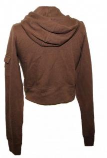 Hurley X Skateboard Hooded Zip Sweater Jacke Brown - Vorschau 2