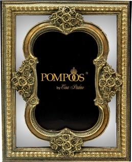 Pompöös by Casa Padrino Barock Bilderrahmen Antik Stil Gold / Spiegelglas von Harald Glööckler - Foto Rahmen