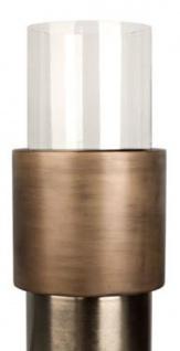 Casa Padrino Luxus Kerzenhalter / Teelichthalter Bronze Ø 35 x H. 99 cm - Hotel & Restaurant Deko - Vorschau 2