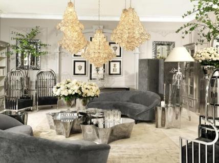 Casa Padrino Luxus Stehleuchte - Luxus Qualität - Vorschau 2