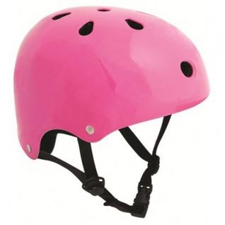 SFR Skateboard / Scooter / Inliner / BMX / Rollschuh Schutz Helm - Fluo Pink - Skateboard Schutzausrüstung