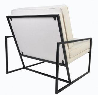Casa Padrino Luxus Sessel 84 x 87, 5 x H. 80 cm - Verschiedene Farben - Wohnzimmer Hotel Büro Club Sessel - Luxus Kollektion - Vorschau 4