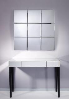 Casa Padrino Luxus Spiegelglas Konsole Weiß 100 x 33 x H. 76 cm - Luxus Möbel & Accessoires - Vorschau 2