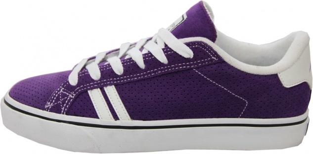Emerica Skateboard Schuhe Leo SMU Purple - Sneaker Sneakers Skateboard Shoes Lila Weiß