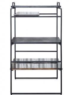 Casa Padrino Luxus Designer Beistelltisch Schwarz 45 x 45 x H. 80, 5 cm - Designer Möbel