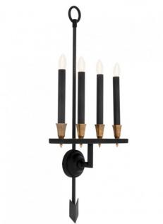 Casa Padrino Luxus Wandleuchte - Luxus Leuchte