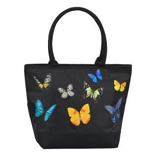 Designer Shoppertasche Schmetterlingstanz - Elegante Tasche - Luxus Design