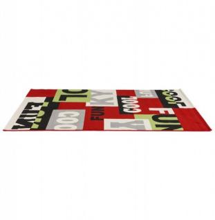 Casa Padrino Designer Teppich 160 x 230 cm Cool & Funky - Läufer - Vorschau 3