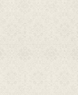 Casa Padrino Barock Tapete Weiß / Creme 10, 05 x 0, 53 m - Textiltapete im Barockstil