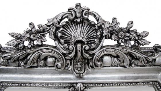 Casa Padrino Antik Stil Spiegel / Wandspiegel Silber 118 x H. 207 cm - Barock Wohnzimmer Möbel - Vorschau 3