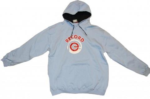 Addict Skateboard Pullover Basic Hoodie Sky Blue Sweater