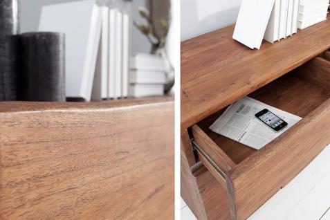 Casa Padrino Luxus Sideboard Natur / Braun B.170 x H.92 x T.45 - Fernsehschrank - Kommode - Handgefertigt aus massivem Akazienholz! - Vorschau 5