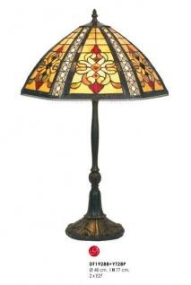 Tiffany Hockerleuchte Höhe 77 cm, Durchmesser 48 cm DT19288+YT28P Leuchte Lampe