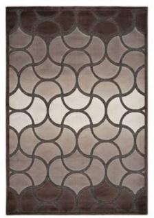 Casa Padrino Luxus Teppich Beige - Verschiedene Größen - Wohnzimmer Teppich mit 3D-Effekt