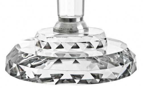 Casa Padrino Luxus Kristallglas Kerzenhalter Durchmesser 46 x H. 77 cm - Edel & Prunkvoll - Vorschau 2