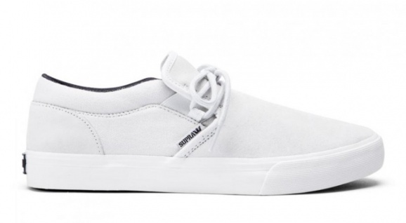 SUPRA Skateboard Schuhe Cuba Light Grey