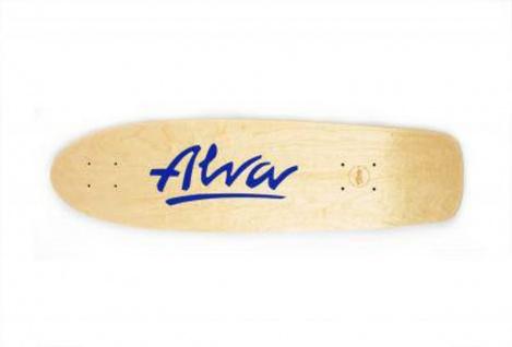 Alva Skateboard Cruiser Deck Re-Issue Twilight 29.75 x 7.88 inch - Skateboard Cruiser Holz Deck - Leichte Kratzer durch Lagerung