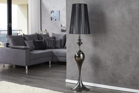 Casa Padrino Barock Stehleuchte schwarz 1-Flammig - Leuchte Lampe - Vorschau 2