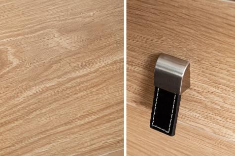 Casa Padrino Schreibtisch Eiche 120cm mit 2 Schubladen - Designer Kollektion - Vorschau 4