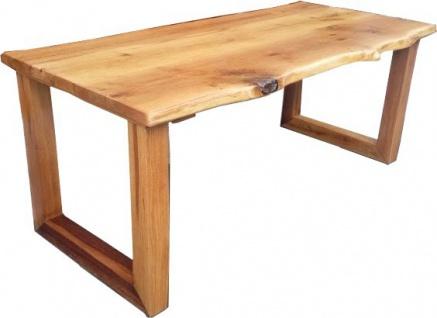 Casa Padrino Vintage Esstisch Eiche Rustikal Massiv 200 x 100 cm Mod TR3 - Landhaus Stil Tisch massives Eichenholz - Vorschau 2