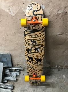 Koston Longboard Komplettboard Silk Road - 1B Lagerware mit Kratzern