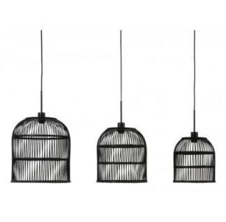 Casa Padrino Hängeleuchte Deckenleuchte Schwarz Industrial Design Durchmesser 35 x H 39 cm - Industrie Lampe Leuchte Industrieleuchte