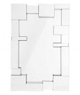Casa Padrino Designer Luxus Wandspiegel 81 x H 121 cm - Luxus Spiegel