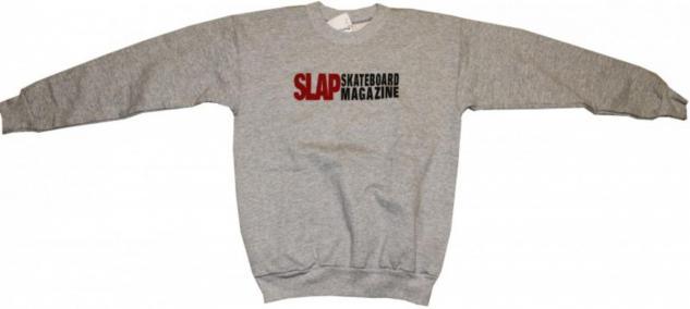 Hanes Skateboard Pullover Grey Sweater