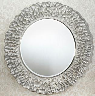 Casa Padrino Hotel / Restaurant Spiegel Silber Ø 110 cm - Luxus Qualität