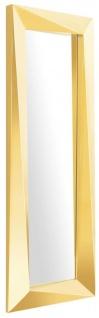 Casa Padrino Luxus Spiegel / Wandspiegel Gold 80 x H. 220 cm - Luxus Qualität