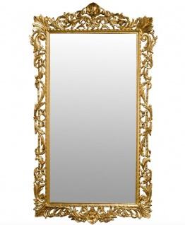 Casa Padrino Barock Spiegel Gold 110 x H. 195 cm - Antik Stil Wandspiegel