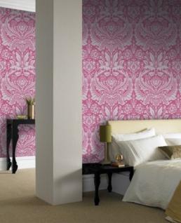 Graham & Brown Barock Tapete Desire 50-024 Pink / Silber - Vorschau 3