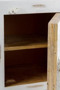 Casa Padrino Landhausstil Shabby Chic Kommode mit Tür Antik Weiß / Mehrfarbig 40 x 32 x H. 50 cm - Landhausstil Möbel - Vorschau 5