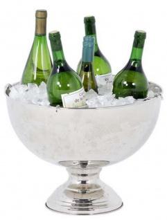 Casa Padrino Designer Edelstahl Champagnerkühler 39 x H. 26 cm - Luxus Restaurant Kollektion